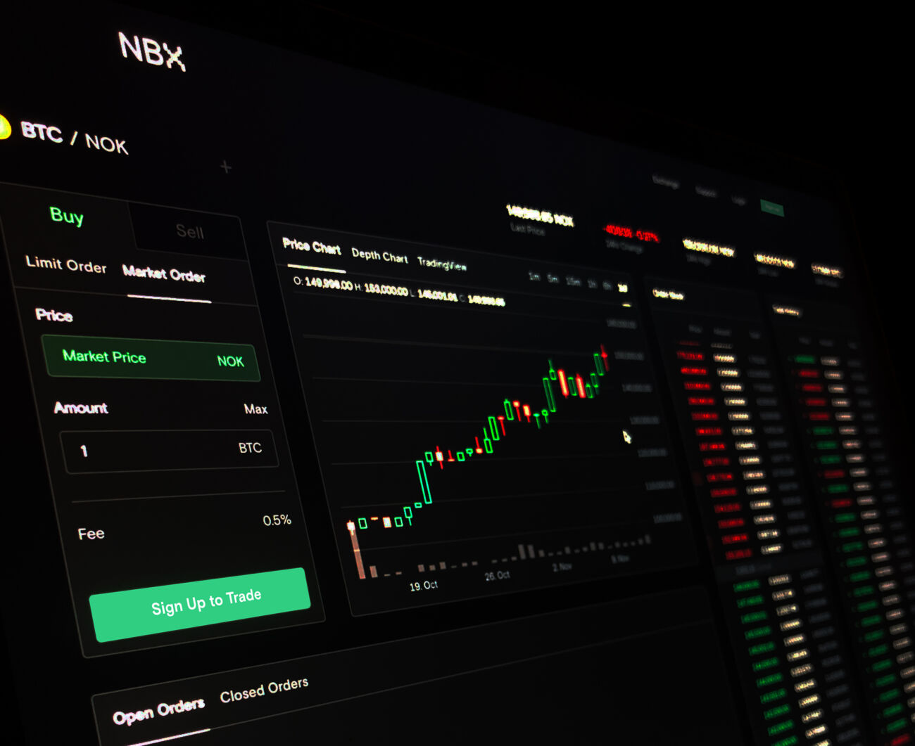 Norwegian Block Exchange (NBX) kryptovalutabørs