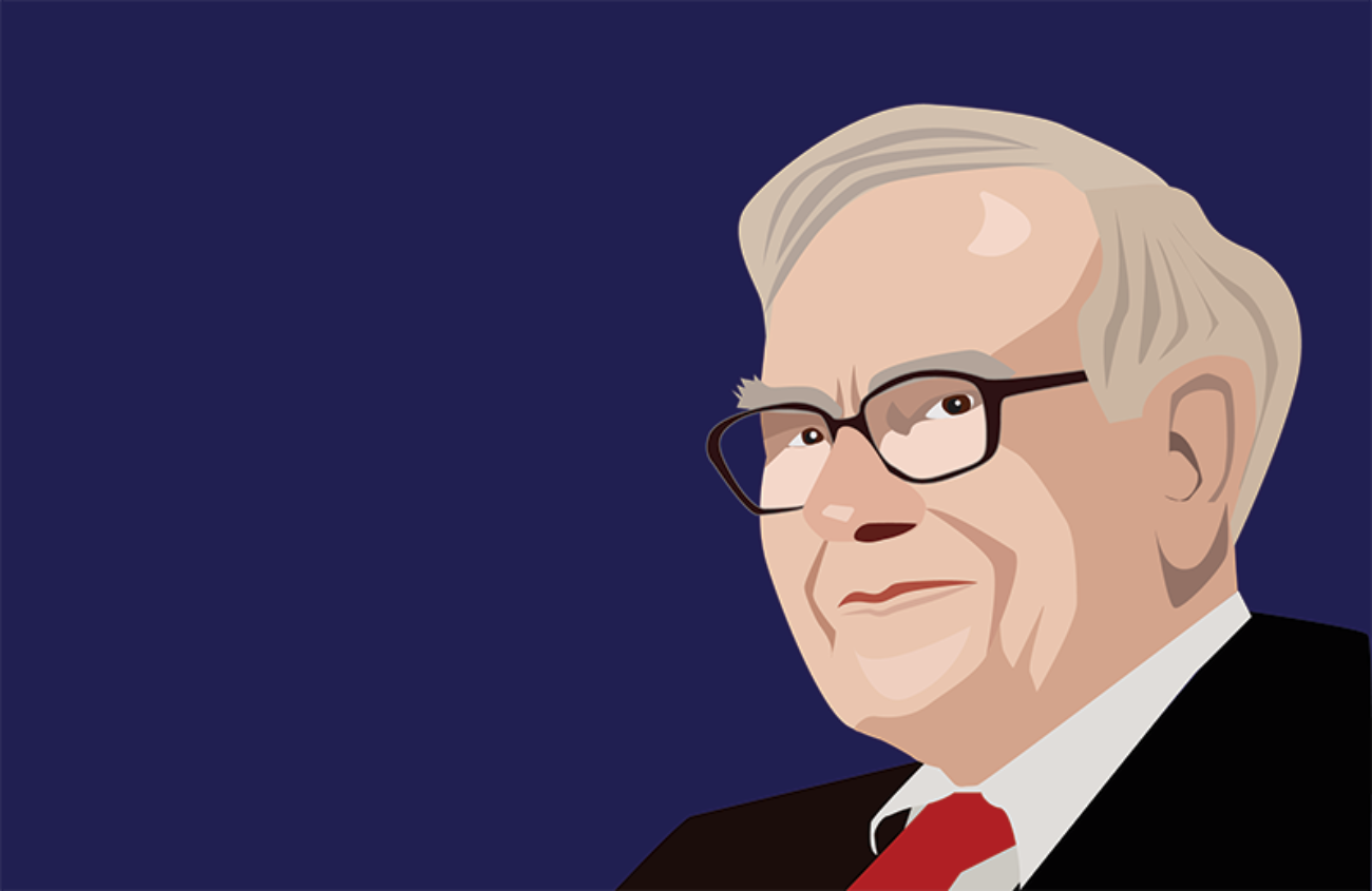 Warren Buffett illustrasjon